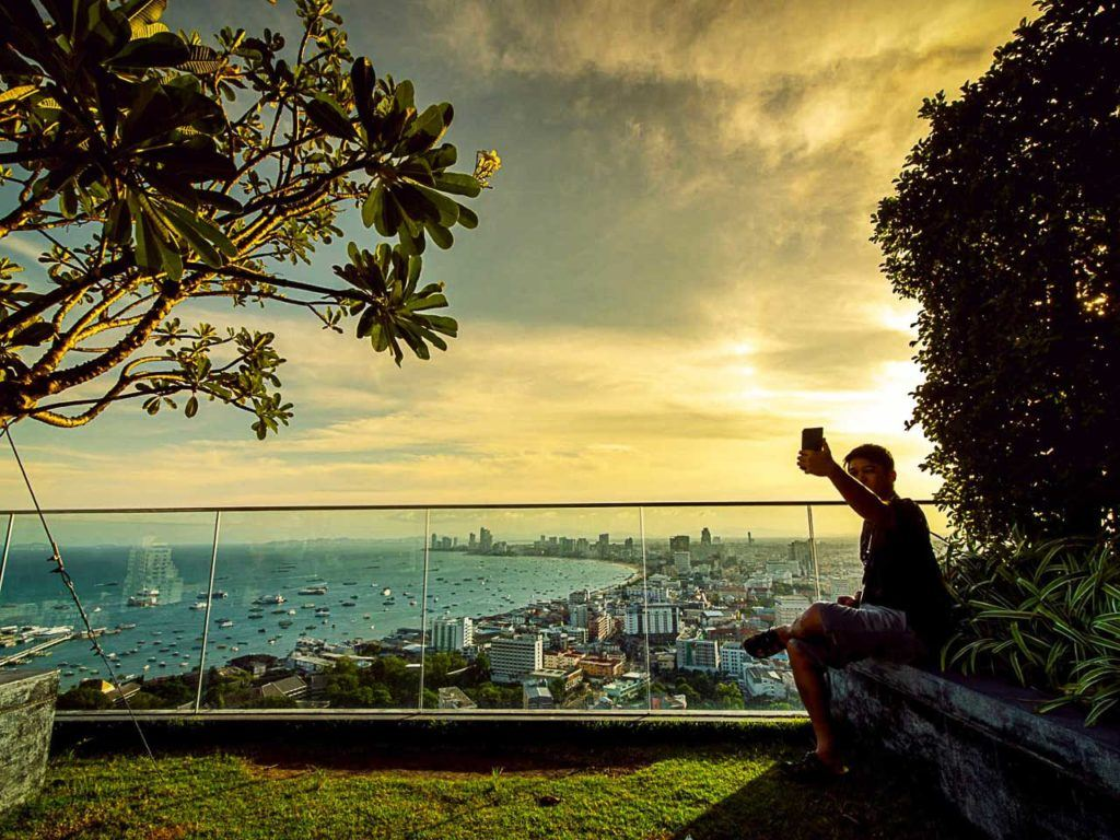 After you learn how to get to Pattaya from Bangkok it's time to sit back and take some pictures.