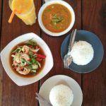 Sunrise Beach Restaurant serves the best curries we ate in Koh Lipe.