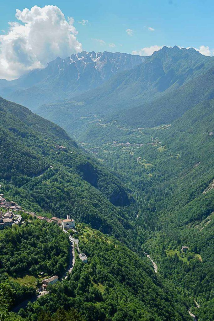Visit the Forte Pozzacchio for incredible views of Rovereto and surroundings in Italy.