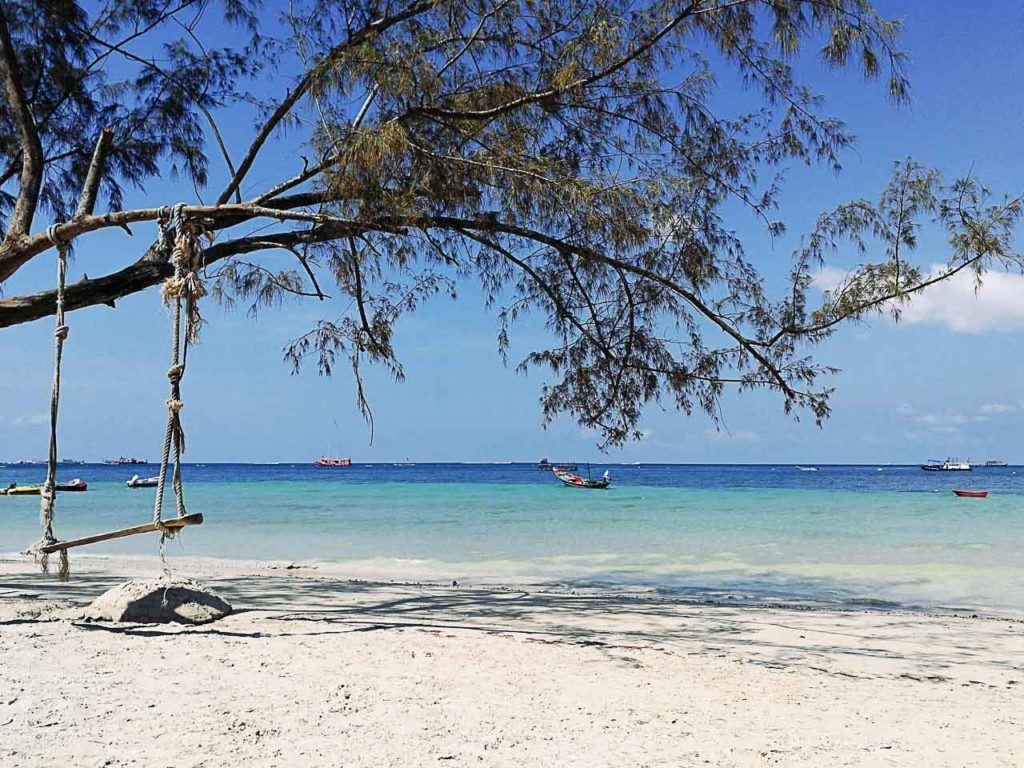 Há muito o que fazer fazer em Koh Tao, começando por suas belas praias.