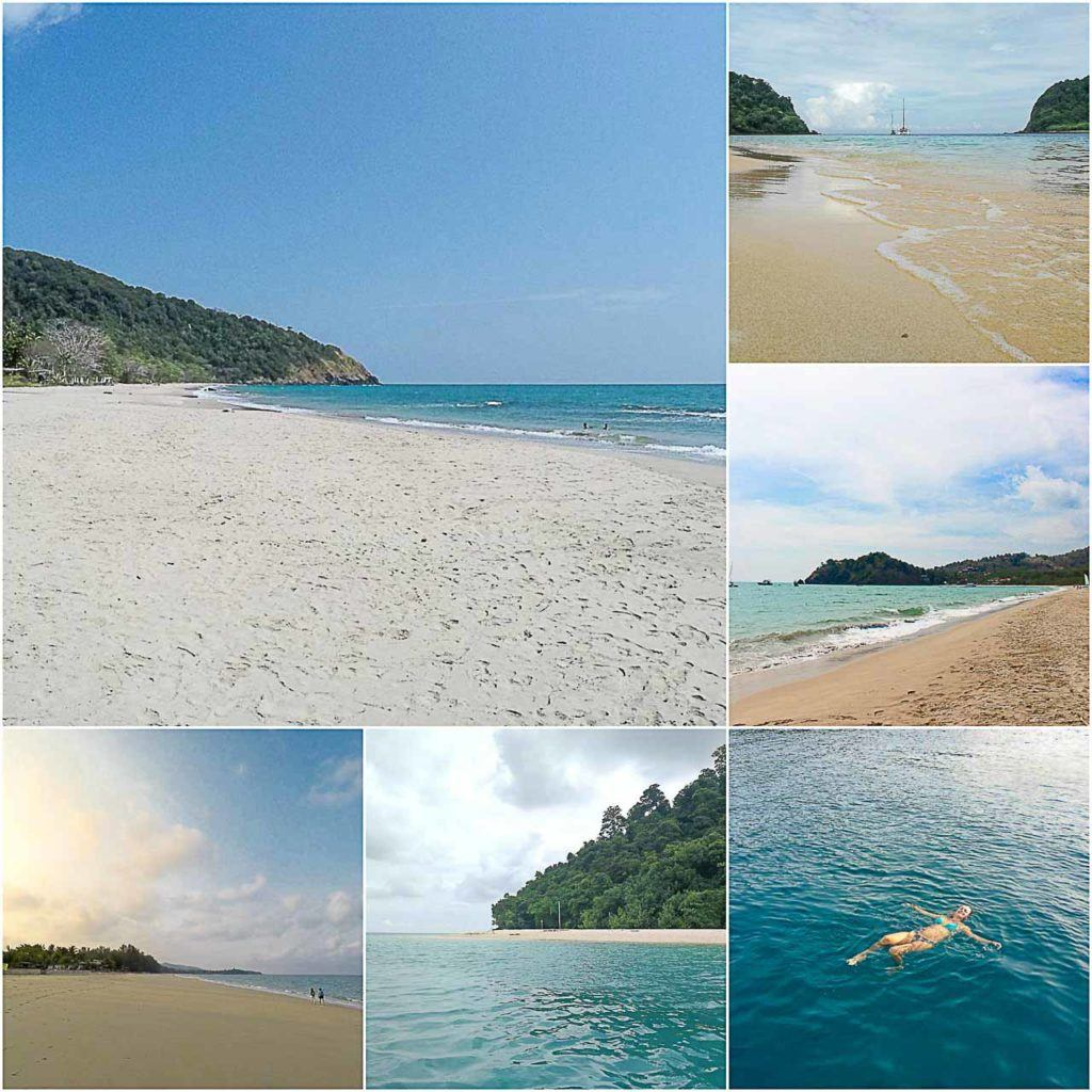 The best beaches in Koh Lanta.