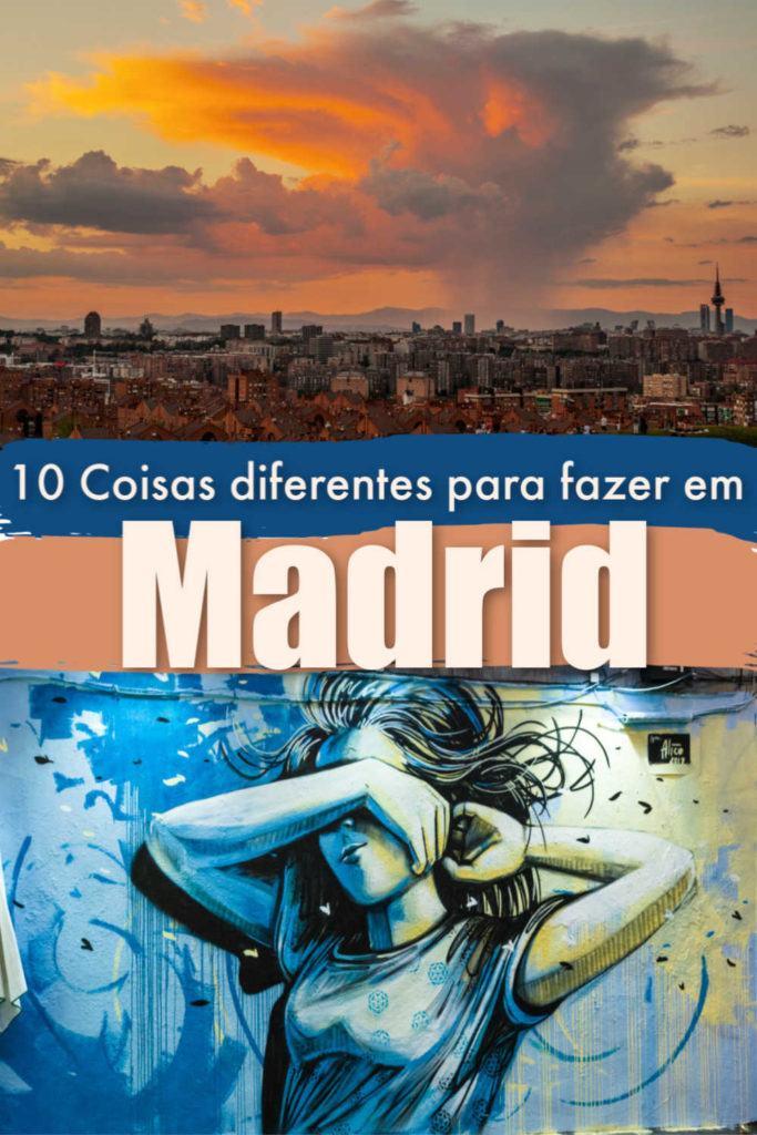 Descubra Madrid como um morador local, de restaurantes a parques, cultura e arte. Listamos 10 coisas alternativas para fazer em Madrid, na Espanha, que te manterão ocupado por dias. Atividades não turísticas e onde ficar em Madrid para viajantes que desejam uma estadia fora do comum. #Madrid #Madri #Espanha #coisasprafazeremmadrid