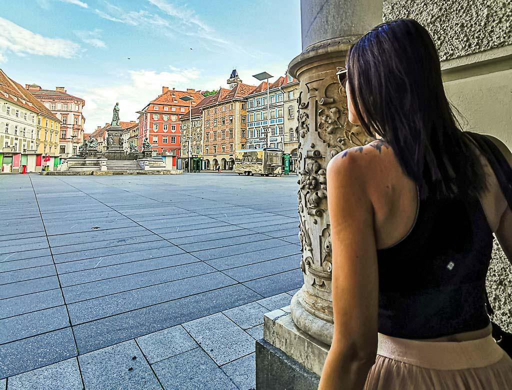 Há muito para ver quando você chega em Graz.