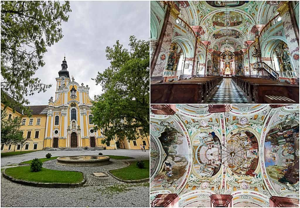 The Cistercian Monastery near Graz was established in Rein, Austria, in 1129 and it's the oldest remaining Cistercian community in the world. There, don't miss out on the Baroque Abbey Church.