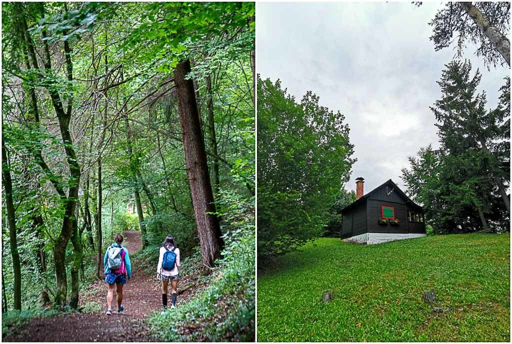 As we were returning from our hike in Graz, we passed by lovely huts and saw more beautiful views of Graz.