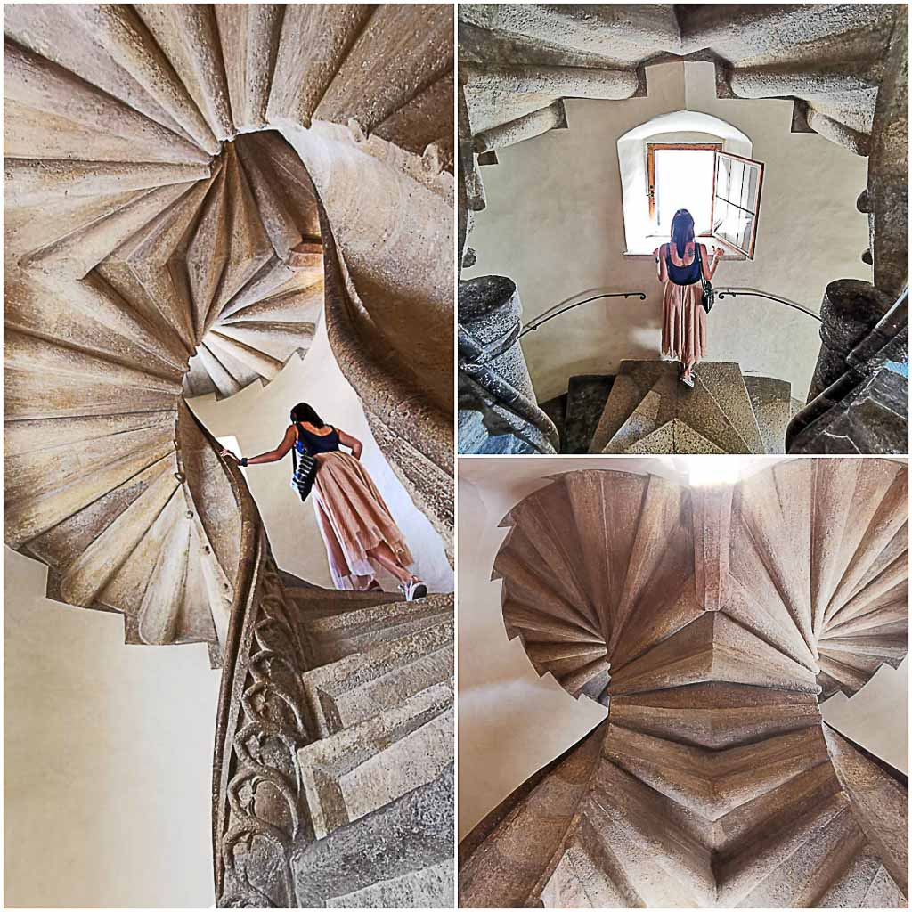 When you travel to Graz, you must go to the castle The Burg and search for the double spiral staircase.