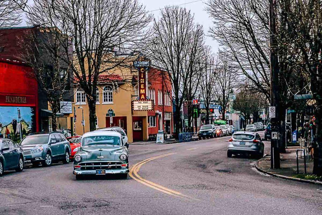 Gastos com transporte e quanto custa viajar para Portland, Oregon.