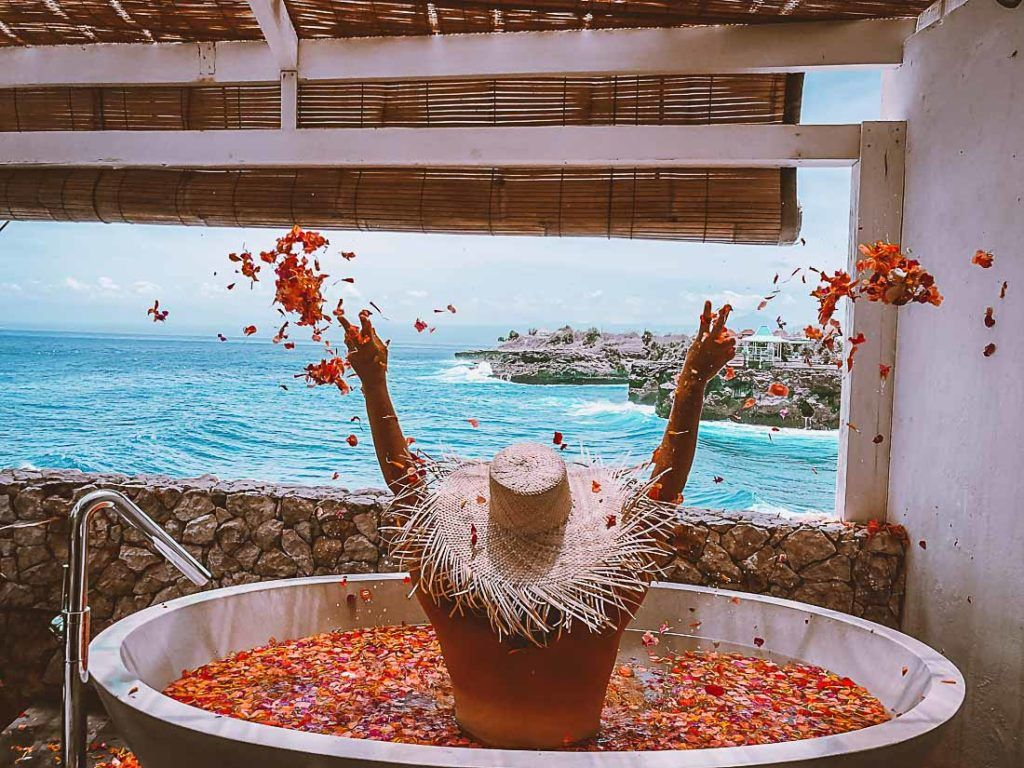 Luxury resort private balcony spa pool. Discover all you need to know about prices of accommodation in Bali for any trip budget in this article.