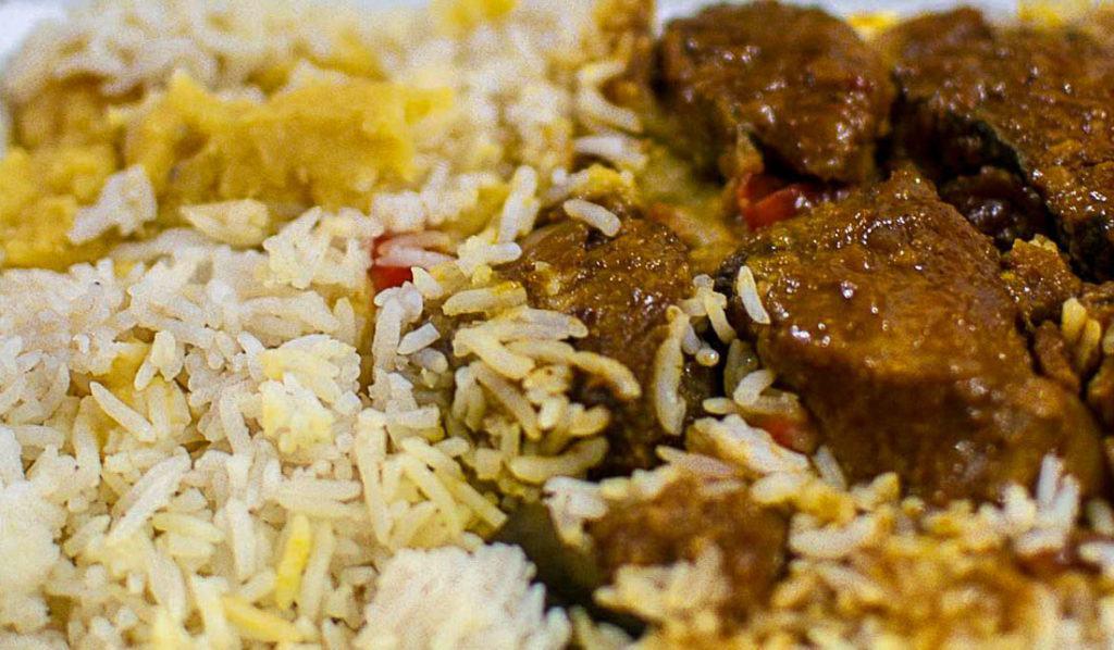 Um prato típico de Seychelles. Cobrimos todos os custos de viagem para Seychelles neste guia completo.